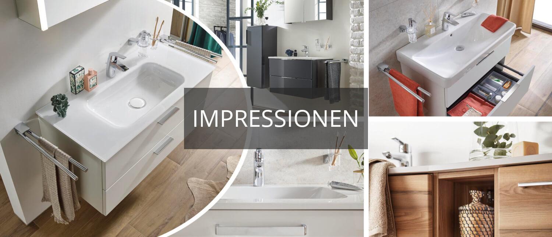 Waschbecken, Armaturen & Spiegelschränke von PFEIFFER & MAY